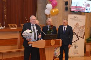 Приятные слова в адрес библиотеки звучали от руководства и организаций НАН Беларуси
