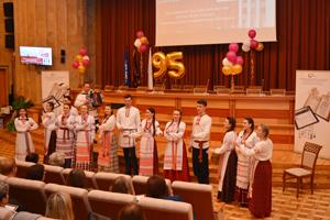 Выступление фольклорного ансамбля «Грамніцы»