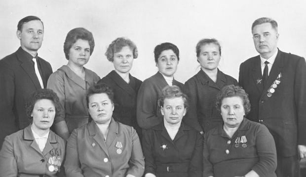 Сотрудники библиотеки – участники Великой Отечественной войны
