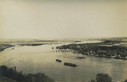 1900-е годы. Вид на Днепр с Правого берега