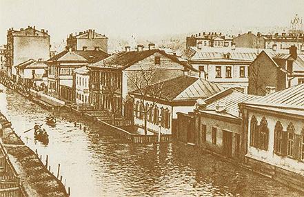 Весенние паводки XIX век