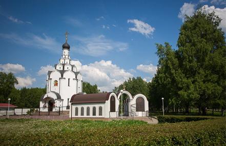 Церковь в честь иконы Божьей Матери