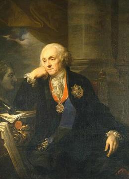 Граф Иоахим Литавор                 Хрептович портрет