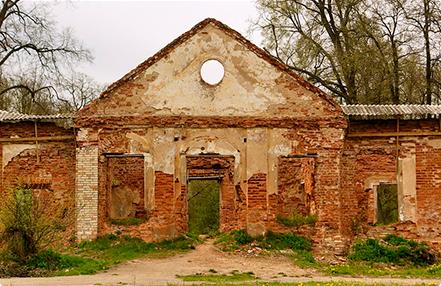 Руины дворцового комплекса
