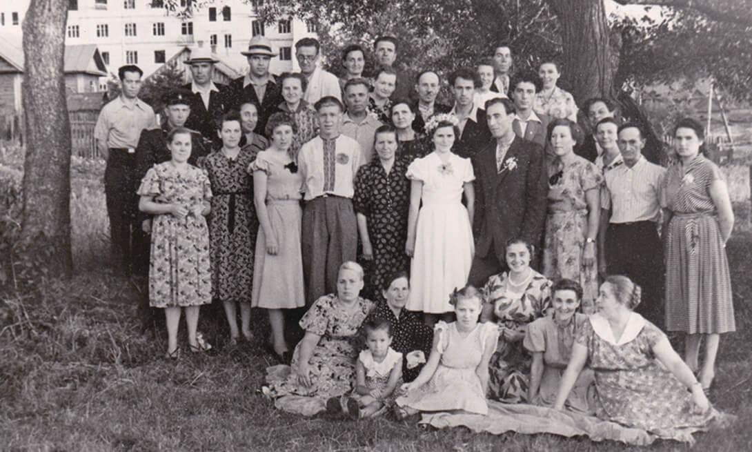 Вяселле на Старажоўцы. 1957