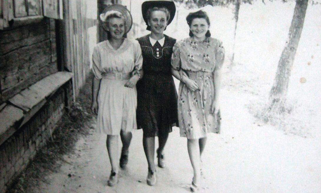 Жыхары Старажоўкі. Канец 1940-х гг.