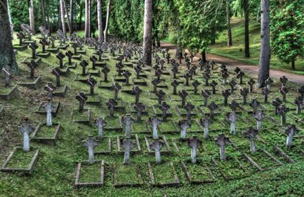 Кладбища Антоколя